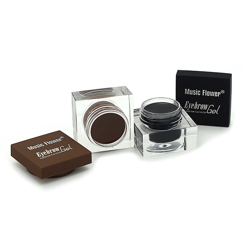 Music Flower Brand Cosmetics Eyebrow Makeup Kit Eye Brow Gel