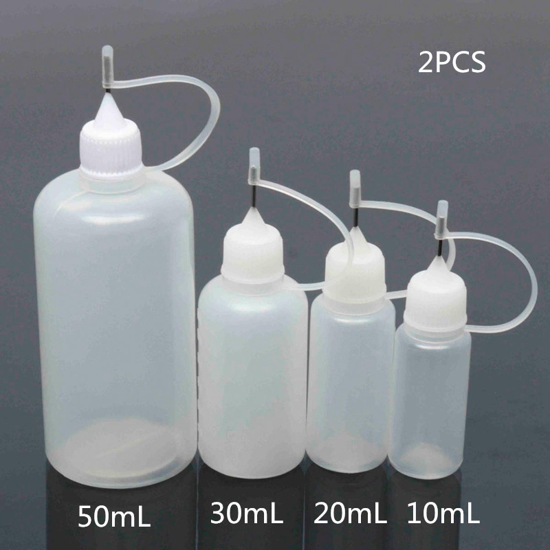2pcs 15ml/20ml/30ml/50ml Plastic Dropper Bottle With Childproof Cap Long Thin Needle Tip 100ml Empty Liquid Bottle 5pcs 5 10 15 20 30 50ml new shape pet e liquid dropper bottle with normal screw cap and plastic needle
