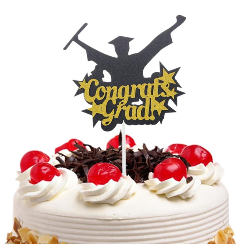 Cake Flags Құттықтаулар Grad Кубокки - Мерекелік және кешкі заттар - фото 1