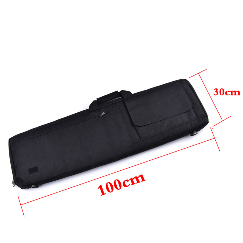 Image 3 - 85cm / 100cm Military Tactical Gun Bag Hunting Rifle Gun Carry Bag Airsoft Rifle Case Hunting Bags Sniper Gun Protective Case-in Holsters from Sports & Entertainment
