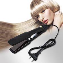 Kemei Fast Heating New Flat Iron Straightening Irons Styling Tools Professional Hair Straightener hair irons 5 kemei 2209 professional hair flat iron curler hair straightener irons 110v 220v eu plug tourmaline ceramic coating styling tools