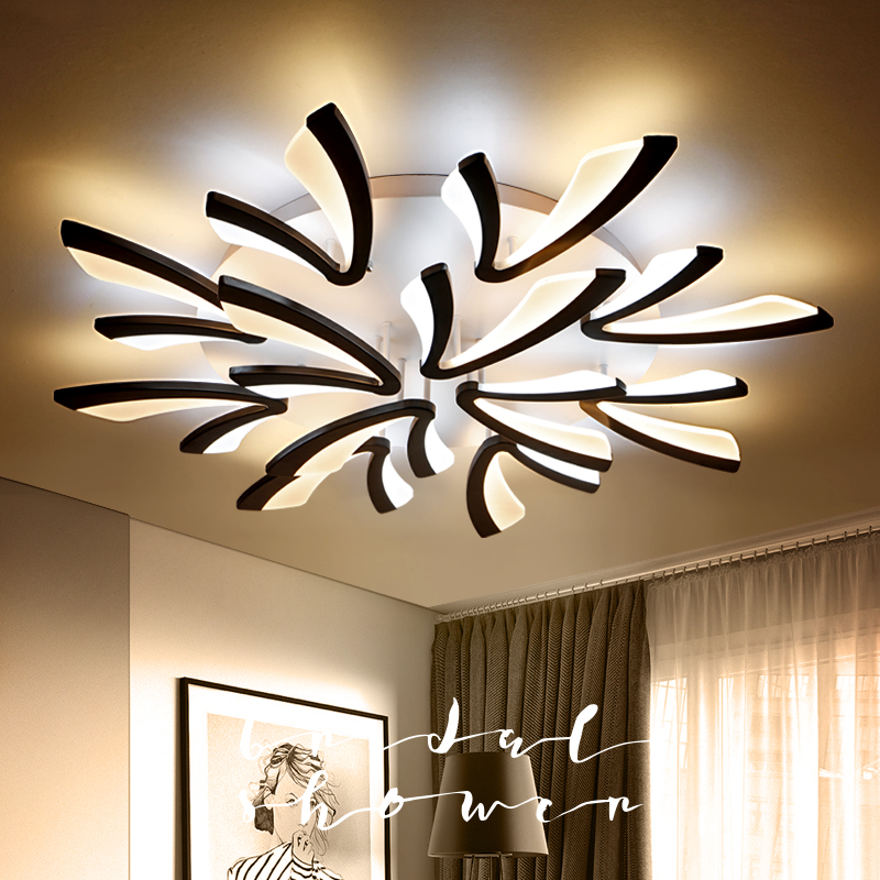 Acrylic Modern LED Ceiling Lights for Living Room Bedroom Dining Room Home Ceiling Lamp Lighting Fixtures Free Shipping modern led living room ceiling lamp acrylic ceiling lights creative bedroom dining room home lighting fixtures plafondlamp lumin