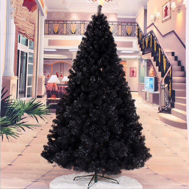 24 m 240cm black christmas tree decorated christmas gift packages christmas tree decorations christmas gifts