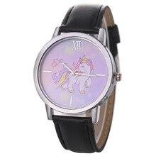 New Fashion Women's Cartoon Watches Casual Leather Dress Wrist Watches For Women Sport Quartz Clock Ladies Watch bayan saat цена