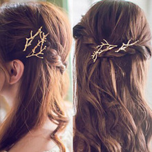 2pcs/lot Classic Hair Decorations Buckhorn Barrette Hair Clip Hairpins For Women Girls Hair Styling Headdress Women Accessories 2pcs classic hair decorations scissor shear barrette hair clip hairpins for women girls hair styling headdress women accessories