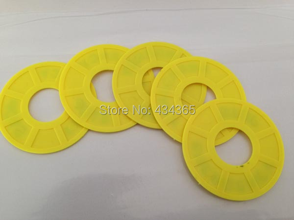100pcs 22mm Emergency Stop Warning Ring Plastic Sign Push Button Switch Panel Label Frame outer diameter 60mm in Switches from Lights Lighting