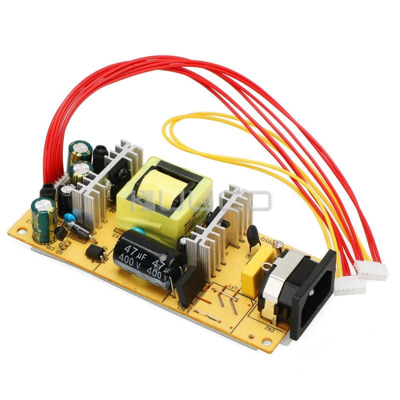 AC 110V/220v to DC 12V/5V LCD Dual Voltage Power Supply Module Universal Adaptors For 15-22 inch DisplayAC 110V/220v to DC 12V/5V LCD Dual Voltage Power Supply Module Universal Adaptors For 15-22 inch Display