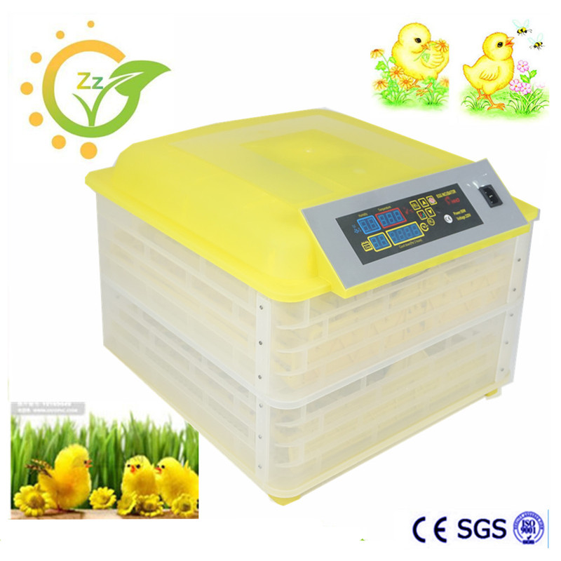 Full Automatic Egg Incubator For Quail Bird chicken egg incubator hatching machine china incubator for sale все цены