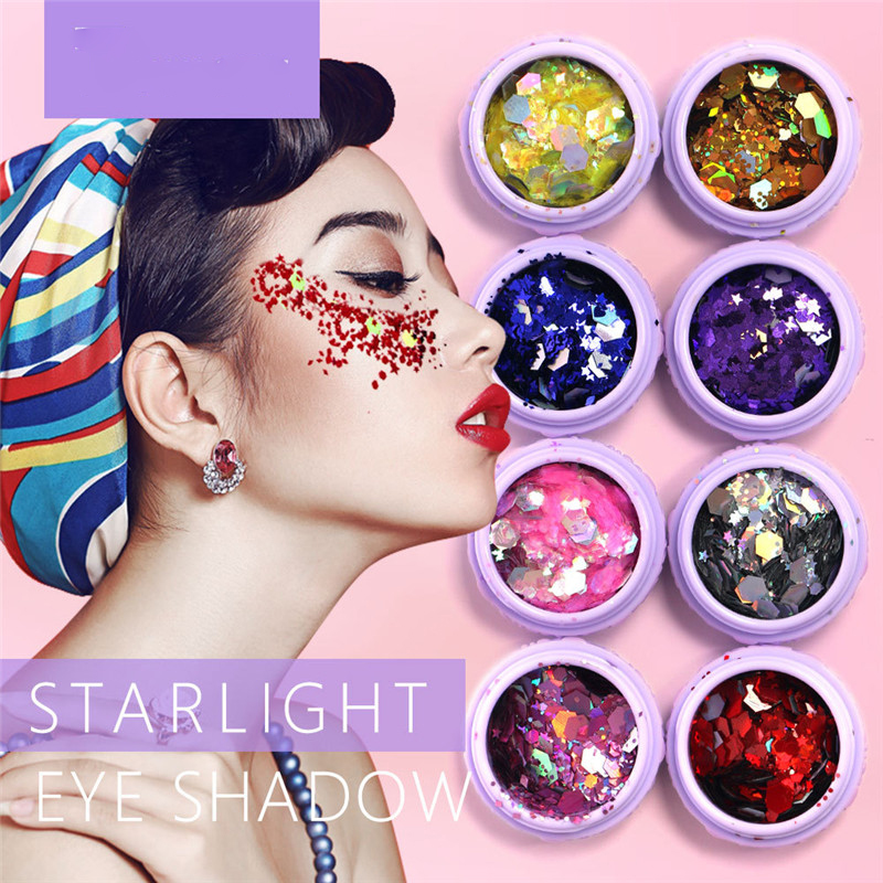 Hfg06 1pc Face Gem Makeup With Rhinestone Skull Teeth Sticker Body Paint Decor For Dressing Party Carnival Holiday Gift Beauty & Health