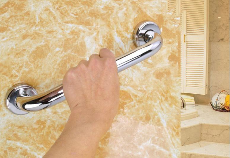 30/40/50cm Stainless Steel Bath Bathroom Grab Bar Support