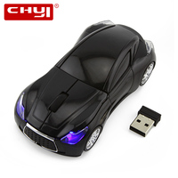 CHYI Hot Sale Infiniti Q80 Sport Car Mouse GT Supercar Wireless Mice Led Optical Gaming Computer Mouse For PC Laptop Desktop