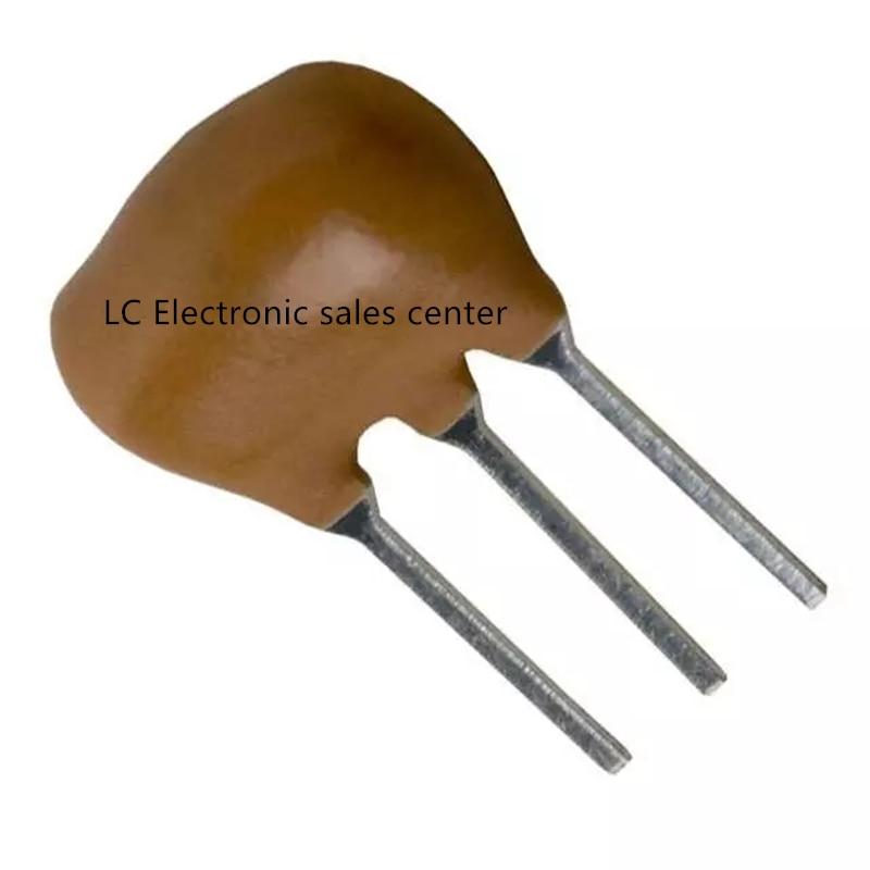 10pcs ZTT Crystal 10.7M Ceramic 10.7MHZ Crystal Resonator Inline 3 Feet