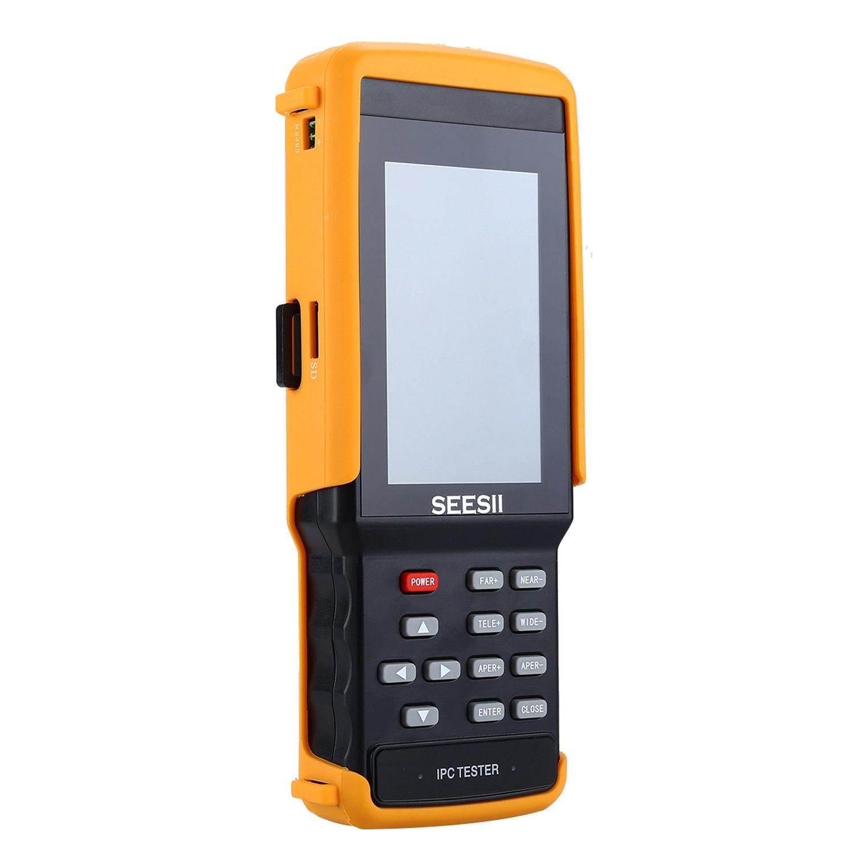 SEESII IPC9300S 4.3 Tester Monitor 1080P IPS IPC CCTV Camera CVBS PTZ Control Horizontal Vertica WIFI 8GB IP Discovery Portable