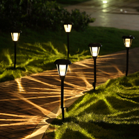 Solar energy lamp outdoor garden villa courtyard decoration lamp garden solar energy lamp led lawn lamp