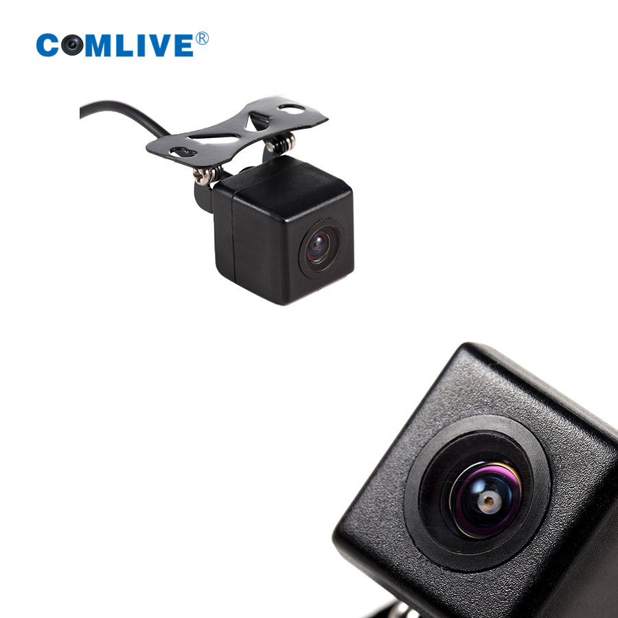 HiDV Digital Technology Store  HD night vision vechicle camera IP67 waterproof car rear view camera parking assistance android GPS dvr rear camera