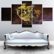 Modern Decor DOTA 2 Game HD Print Canvas Printed 5 Pieces Painting Wall Art Living Room Artwork Home Poster