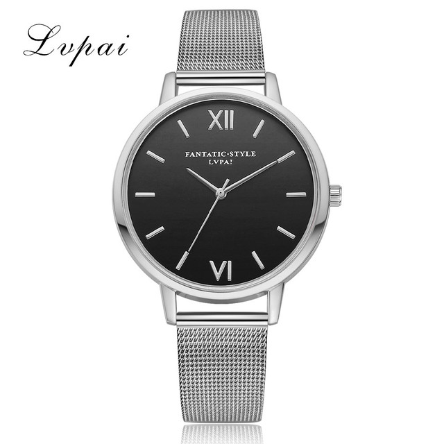 2018 New Lvpai Women Watch Luxury Gold Bracelet Watch Top Quality Quartz Watch Ladies Business Wrist Watch Relogio Dropshiping