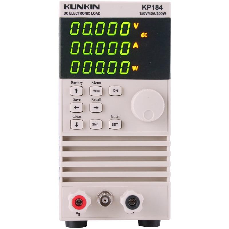KUNKIN electronic load meter 200W 400W KP182 KP184 battery capacity power test aging instrument