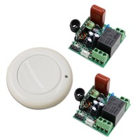 High Quality AC220V RF Wireless Mini Switch Relay Receiver 2x 1CH Remote Controllers For Smart Home