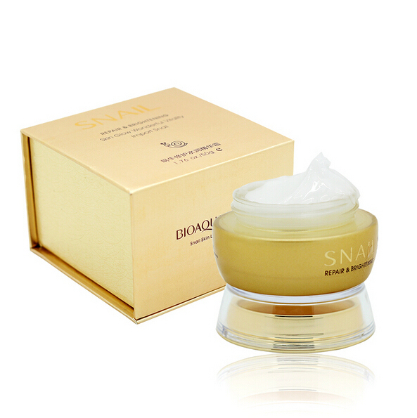 BIOAQUA Famous Brand Skin Care Snail Deep Moisturizing Face Cream Hydrating Anti Wrinkle Anti-Aging Whitening Day Cream