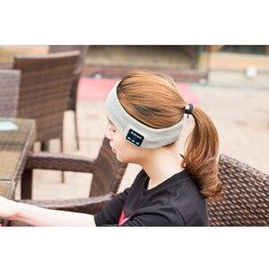 Image 5 - Tiandirenhe Wireless Bluetooth Sleep Headphone Headband Hat Soft Warm Sports Smart Cap Smart Speaker Stereo Headset with Mic