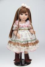 SD BJD 1/4 doll toy for kids birthday gift Vinyl lifelike animation pricess american girl dolls play house girl brinquedos