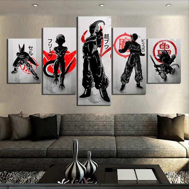 Dragon Ball Anime wallpaper Canvas Poster Decor