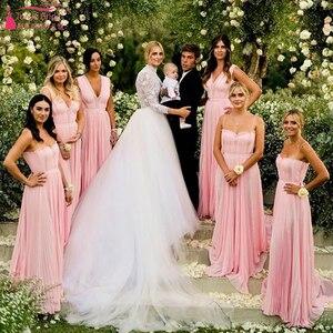 Image 3 - Indémodable dentelle corsage robes de mariée 2019 à manches longues Tulle amovible survêtements élégantes robes de mariée Noivas ZW153