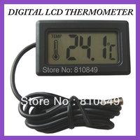 New 10pcs Digital Thermometer LCD Display For Refrigerator Freezer H155 LCD Fridge Freezer Waterproof Digital Thermometer