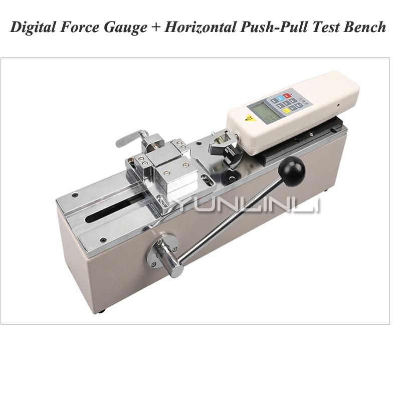 HPH Push-pull Forza Meter Manuale Orizzontale Macchina di Prova di Prova Strumento di Supporto Terminale di Cablaggio Trazione Forza di Trazione di Apparecchiature di Prova