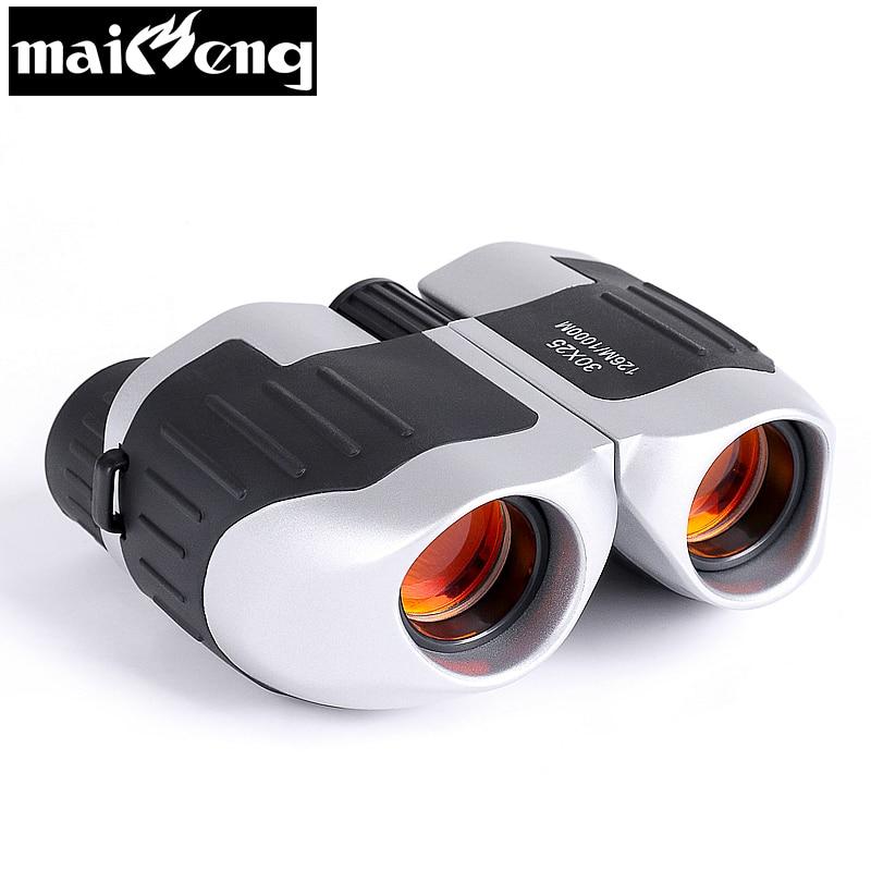 High Power Konzert Fernglas Mini 30X25 HD Teleskop kompakte zoom oper Gläser Tragbare für Reise Sport Lll Nacht vision