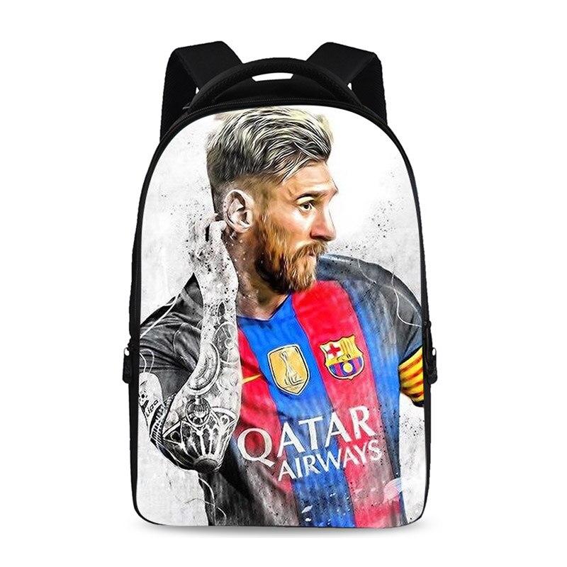 Nouveau produit 2018 15.6 pouces sac à dos pour ordinateur portable avec grande capacité université étudiant sacs d'école femmes Mochila joueur de football