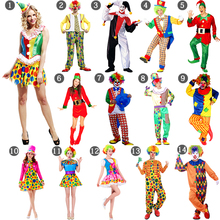 Clown Magician Halloween Cosplay Costume