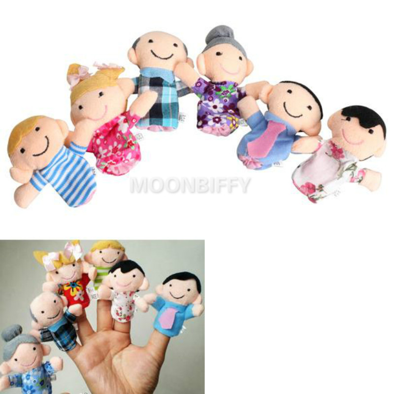 1Pcs-Family-Finger-Puppet-Cloth-Doll-Baby-Educational-Hand-Toy-Story-Funny-Kids-Doll-Toy-1