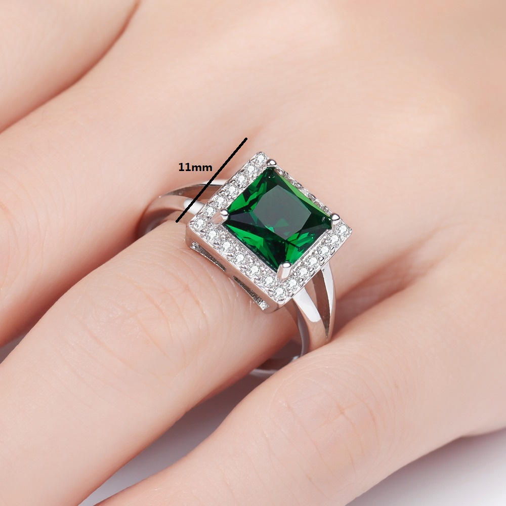 Aliexpress.com : Buy MEGREZEN Ladies Wedding Rings Jewelry Silver ...