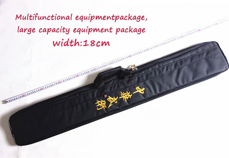 Multifunctional equipment package large capacity equipment bag Sword Bag Sword Carrying Case Double mace bag hook