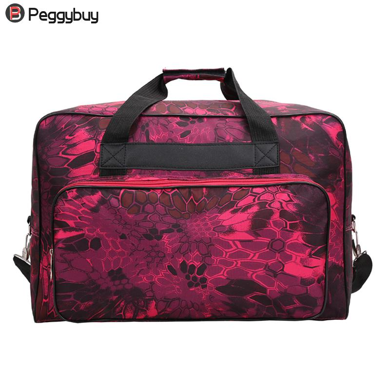Fashion Nylon Sewing Machine Tote Bag Unisex Carrying Storage Cover Case Handbag Waterproof Large Capacity Bags Cool Travel Tote spark storage bag portable carrying case storage box for spark drone accessories can put remote control battery and other parts