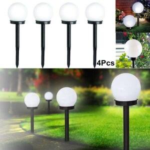 4 Pcs LED Ground Garden Light