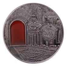 Kremlin Ruissia Em Relevo moeda comemorativa Collectible Coleção