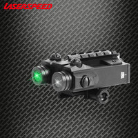 Милитари лазерное ружье указка зеленая точка и ИК Инфракрасная точка двойной луч лазерный прицел Тактический лазерный прицел пистолеты