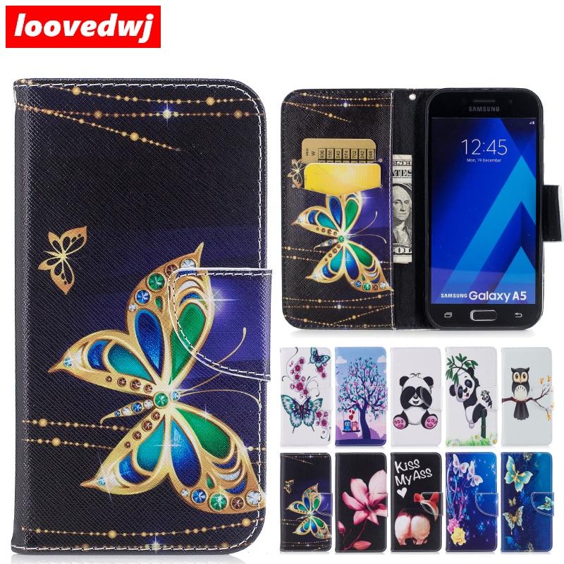 Loovedwj для samsung Galaxy A5 2016 2017 чехол откидная крышка роскошный карты бумажник Новое поступление последним для Galaxy A510 A520 случае