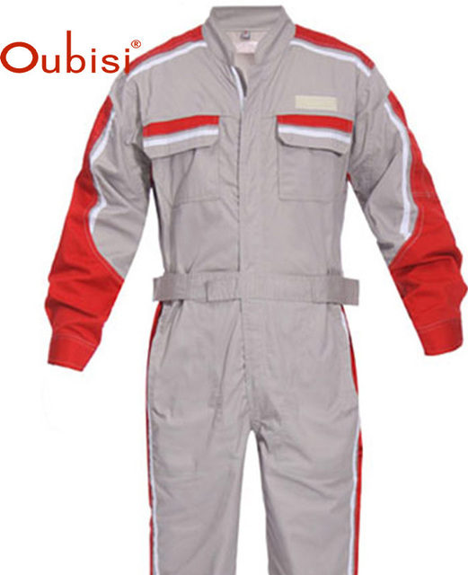 b987320a5555 Oubisi 2015 Reflective Engineer Clothes Tooling factory Uniform Jumpsuit  Workwear safty anti static Uniform Coverall clothing