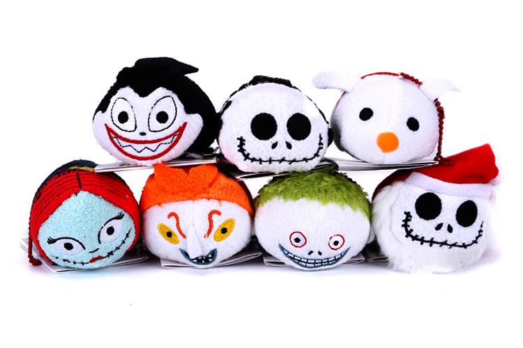 Nightmare before christmas Tsum Tsum fabric jack charms sally zero ...