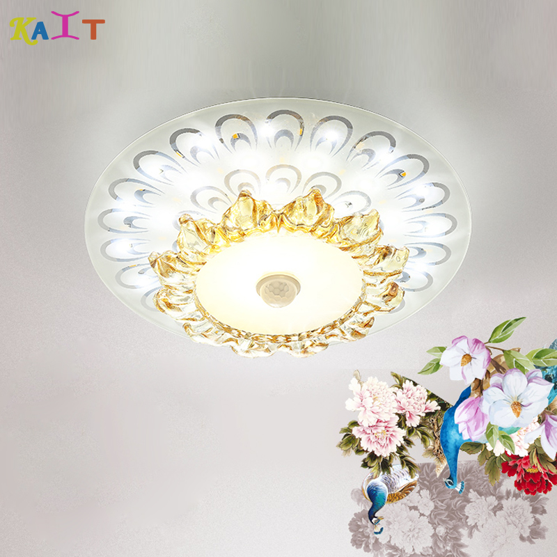 Square Round ceiling lamp living room crystal corridor aisle LED Ceiling LightsSquare Round ceiling lamp living room crystal corridor aisle LED Ceiling Lights