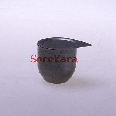 Iron Crucible With Lid 30ml Laboratory Chemistry Melting Cast Lab Use
