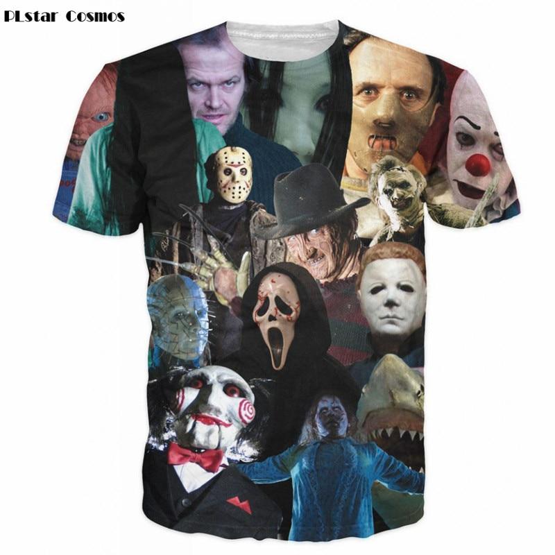 Harajuku Shirt The Walking Dead T-Shirt Zombies 3D Print Creative Pattern T Shirts for Men/Women Tshirt tops Plus size 5XL