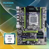 Новое поступление версии 2,49 HUANAN X79 материнской Процессор комбинации X79 материнская плата с ЦПУ Xeon E5 2650 4 канала Оперативная память