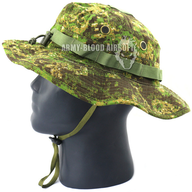 f3326e16c23 NEW EMERSON MILITARY Tactical Boonie Hat (PenCott GreenZone) Bucket Hats  Fishing Caps