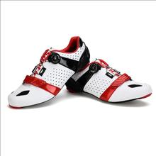 Santic Road Cycling Shoes Ultralight Carbon Fiber Sole Professional Road Bicycle Shoes Auto-Lock Bike Shoes Sapatilha Ciclismo