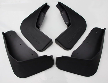 1 Set ABS Car Mudguards Front Rear Left Right Splash Guard Mud Flaps For Ford Ecosport Auto Wheel Fender Protector